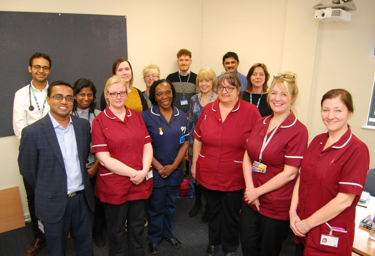 The Kettering General Hospital Rheumatology Team – one of the top performing Trusts nationally in the early diagnosis and management of inflammatory arthritis.