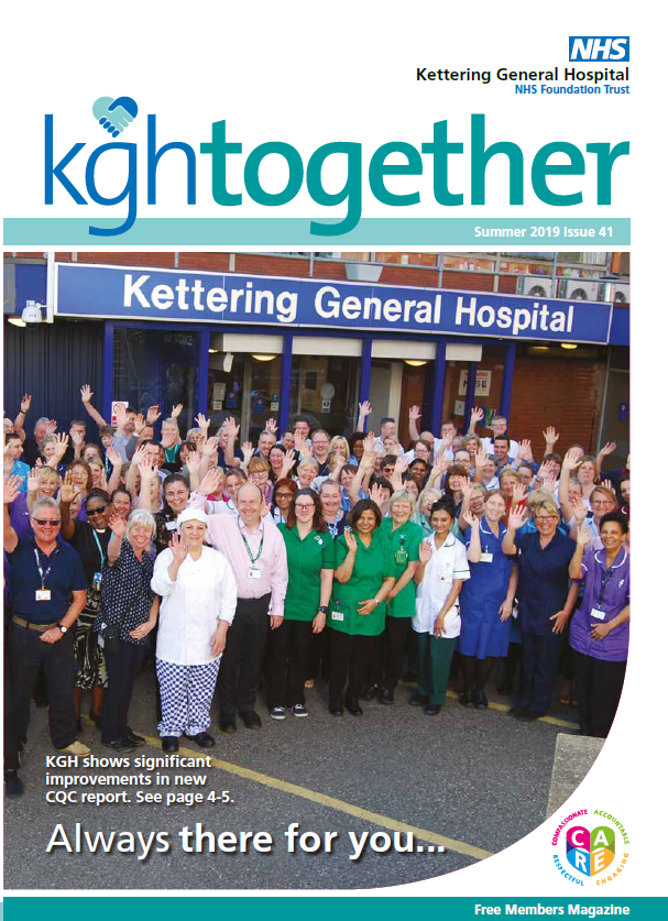 Cover image KGH Togther issue 41