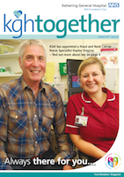 KGH Together Magazine Issue 36 Cover