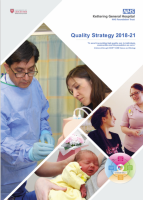 Quality Strategy 2018-21 Cover